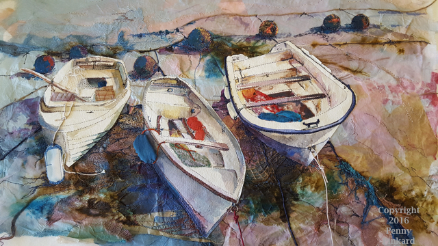 "<a href=""/node/81"">Boats 6, stitched textile</a>"