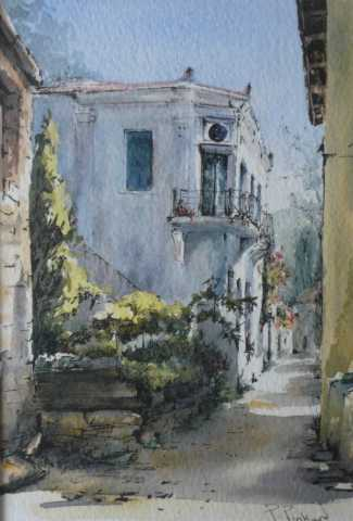 "<a href=""/node/58"">Greek House, watercolour</a>"