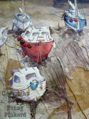 "<a href=""/node/33"">Boats 2, stitched textile</a>"