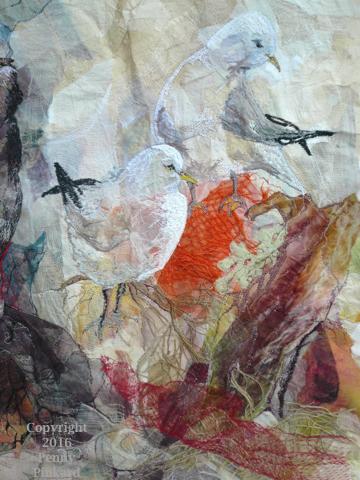 "<a href=""/node/95"">Seagulls , stitched textile</a>"